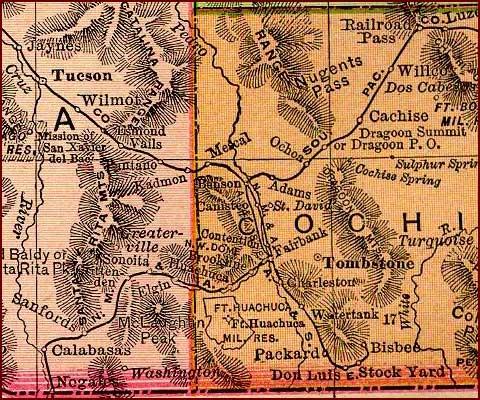 SE Arizona 1895