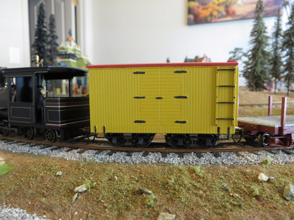 Chivers boxcar