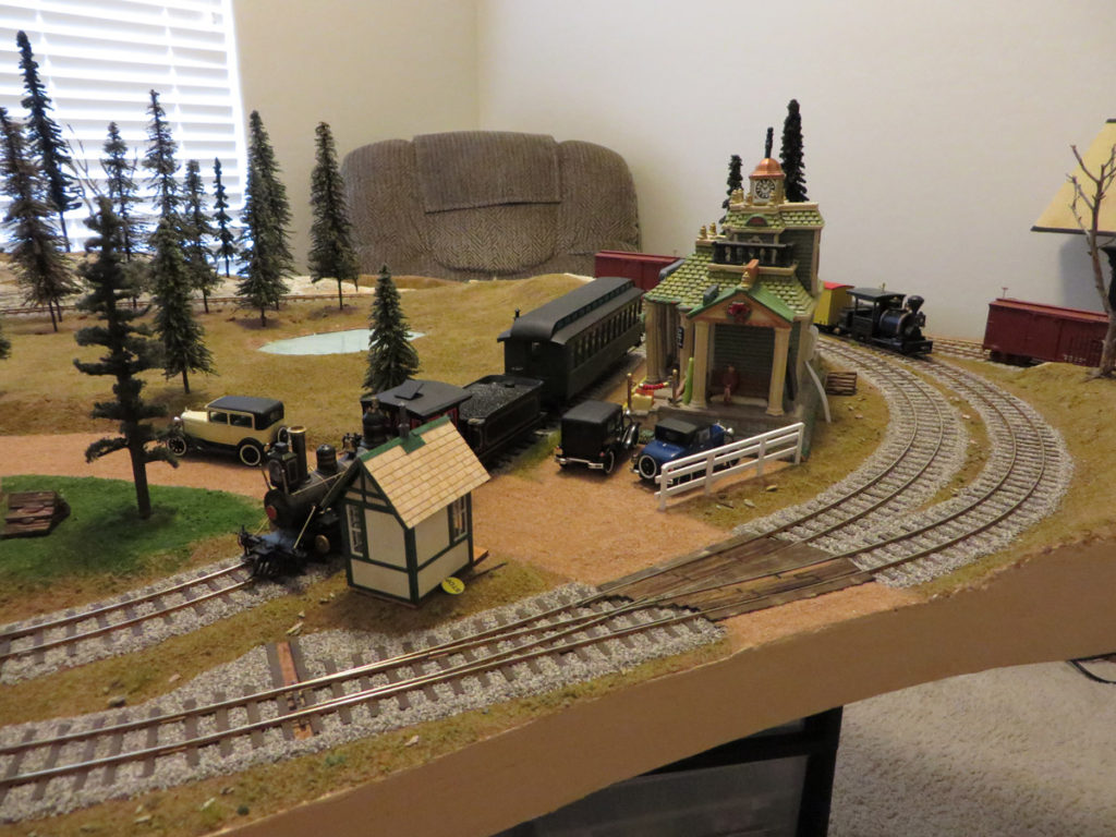 The other grade crossing