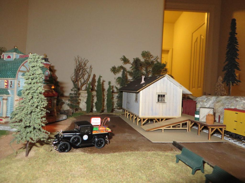Freight depot